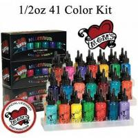 Buy cheap Millennium Moms Tattoo Inks Boxed Kit with 41 - - 1/2oz Bottles from wholesalers