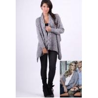 China Forever Unique Grey Kathy Knit Cardigan wholesale