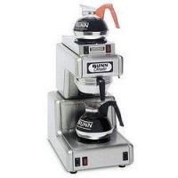 China Bunn Commercial Automatic 12 Cup Coffee Maker 120 Volt with 2 Warmers - OT 15 - Stainless Steel on sale