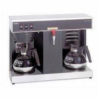China Bunn Commercial Automatic Coffee Maker with 2 Warmers - 120 Volt - VLPF - Black on sale