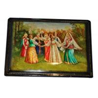 Buy cheap Round Dance Khorovod - Fedoskino Lacquer Box from wholesalers