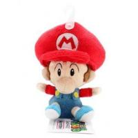 "China San-ei Mario Plush Series Stuffed Toy - 5"" Baby Mario (Japanese Import) wholesale"