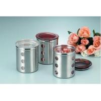 China Stainless Steel Canisters on sale