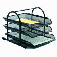 Three tire document tray