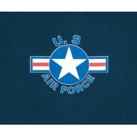 China U.S. Air Force T-Shirt Navy with Star Crest on sale