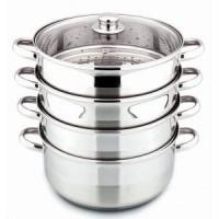 China 5pcs stainless steel steamer set on sale