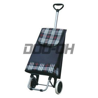 China Shopping Trolley with Foldable Bag and EVA Handle - D-1275-1