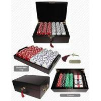 Buy cheap #1 Best Poker Chip Set (Mahogany) - 500 Chips from wholesalers