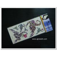China Temporary Body Tattoo scorpion tattoo sticker on sale