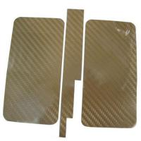China Carbon Skin Protection Sticker for Apple iPhone 4 4G wholesale