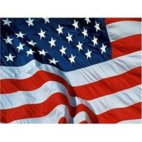 China 2 x New Big 5' x 8' US Embroidered American Flag NIB on sale