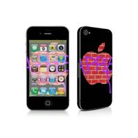 China iPhone 4 skin sticker TN-IPHONE4-0124 wholesale