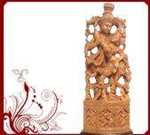 China sandalwood radhakrishna Idol wholesale