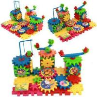 Buy cheap 81 PCS funny electric brick Interlocking Learning Blocks Gear Building Toy Set from wholesalers