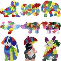 Buy cheap funny 3d puzzle animal alphabet puzzles from wholesalers