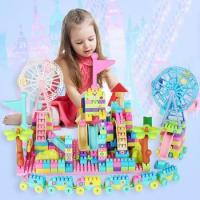 China Wholesale educational plastic building block toy wholesale