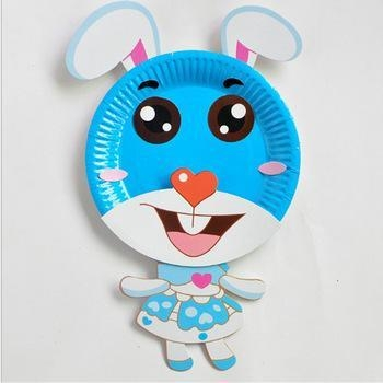 Quality Paper 3D Sticker Toys Cartoon coloring painting for sale