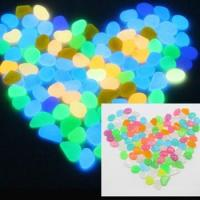 Buy cheap Hot sale glow pebble garden noctilucent stones from wholesalers