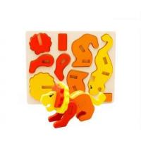 Buy cheap 3D Diy Mixed Packing Puzzle Assembled Animal Educational Wooden Toy for Kids from wholesalers