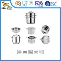 China Stainless Steel Cookware Set Steamer Colander on sale