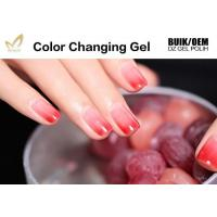 China Chemical Free Heat Activated Color Changing Nail Polish With 72 Color Options on sale