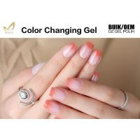 China High Gloss Mood Changing Fingernail Polish Heat Sensitive Nail Varnish No Crick on sale