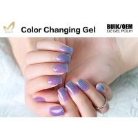 China Multi Colored Mood Changing Nail Polish Gel Heat Changing Nail Varnish 2 Minute Dry on sale