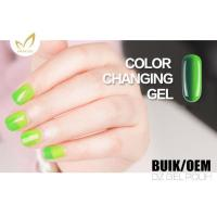 China Uv Light Gel Nail Polish , Heat Changing Gel Nail Polish That Changes Color With Mood on sale