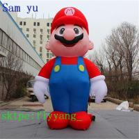 China Giant Christmas Super Mario Inflatable Costume wholesale