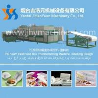 China Device namePS Foam Fast Food Box Thermoforming Machine -Stacking Design wholesale