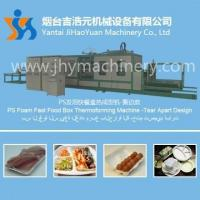 China Device namePS Foam Fast Food Box Thermoforming Machine -Tear Apart Design wholesale