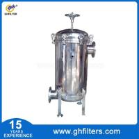 China Water treatment plant basket strainer housing bag f wholesale