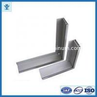 China Powder blasting 6063-T5 / T6 extruded aluminum framing for table edge wholesale