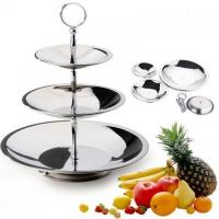 Buy cheap Housewares Stainless Steel Fruit Plate from wholesalers