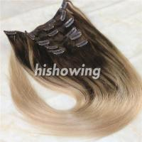 China HAIRS (CLI-C-04) Clip In 2T Color #4&18 wholesale