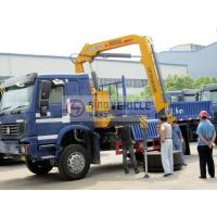 China 4x4 5T Truck Mounted Crane Knuckle Boom wholesale
