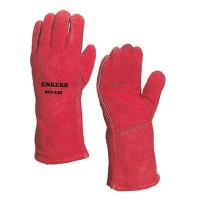 China Red leather welding gloves wholesale