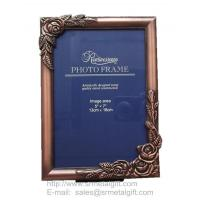 Buy cheap Metal picture frames wholesale, rose metal photo frames from wholesalers