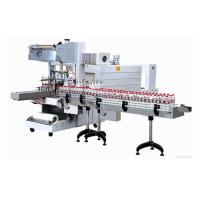 Labeling Machine Semi-auto sleeve wrapper + PE film shrink packaging machine
