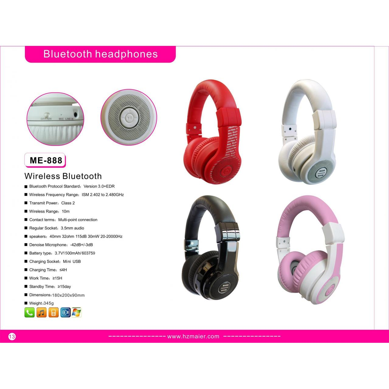 Bluetooth headphones Model:Bluetooth headset
