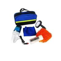 6pcs car wash cleaning Combination kit in blue bag