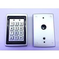 Vandal proof 12 key wall mounting door access control metal keypad with Weigand 26