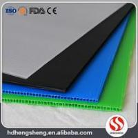 Wholesale top quality costomized size PP hollow board / corrugated plastic sheet