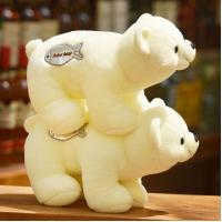 China Polar bear doll bear soft toys queen bear pillows DS-BR005 wholesale