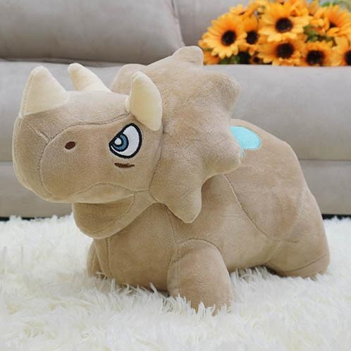 Quality Cartoon dinosaur plush toy dragon soft toys tricer DS-DG007 for sale