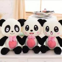 Buy cheap Cute panda pillow doll black and white panda plush DS-PD005 from wholesalers