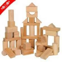China Customized new wood blocks for kids learning on sale