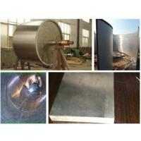 Titanium-steel cladding tube plate welding
