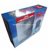 Hard Paper DVD Packaging Box with Window
