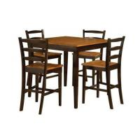 bar height pub table and chairs